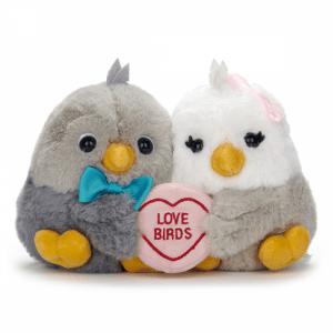 Swizzels Love Hearts Love Birds Soft Toy