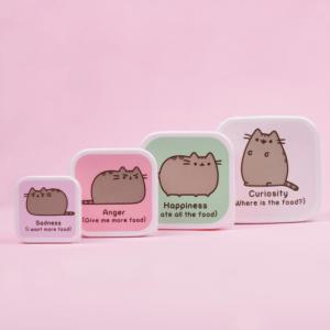 Pusheen Snack Box - Set Of 4 | Pusheen The Cat