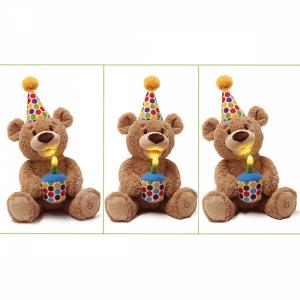 Animated Happy Birthday Bear
