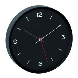 Analogue Black Wall Clock | Quartz Clock | TFA