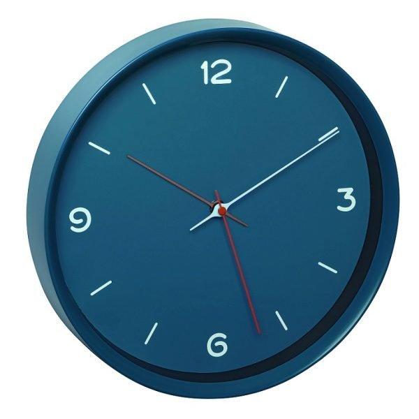 Analogue Petrol Blue Wall Clock | Quartz Clock | TFA