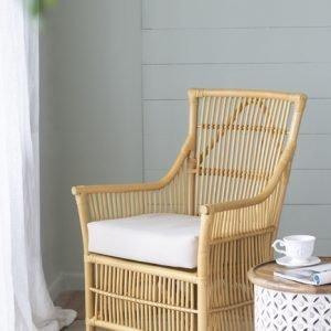 Caloundra Rattan Armchair With Cushion