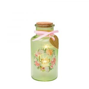 Lovely Nan - Light Up Jar - Mothers Day Gifts
