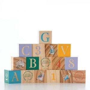 Peter Rabbit Wooden Learning Blocks