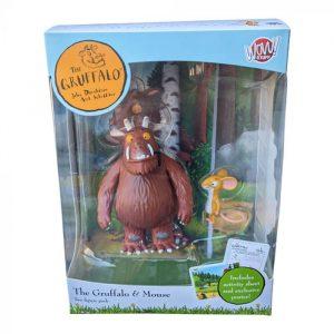 The Gruffalo & Mouse Figurine Twin Pack