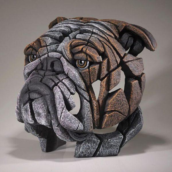 Edge Bust BullDog | Edge Sculptures