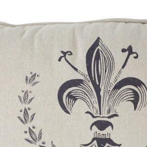 Paris Theme Rectangular Cushion