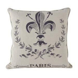 Paris Themed Square Cushion